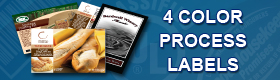 4 Color Process Labels Banner