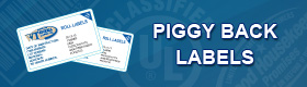 Piggy Back Labels Banner