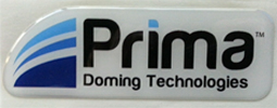 3D Doming Label sample