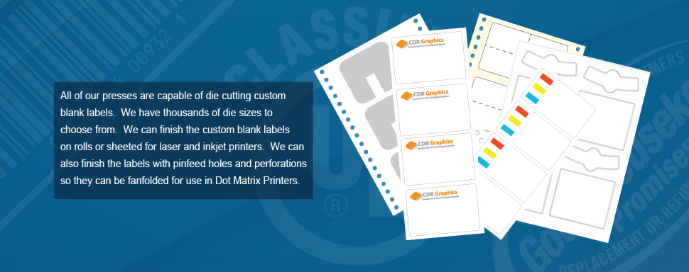 Banner Ad Showing Custom Blank Labels
